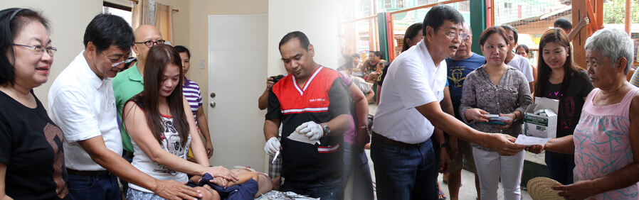 Residents Benefit From Medical Mission And Operation Tuli