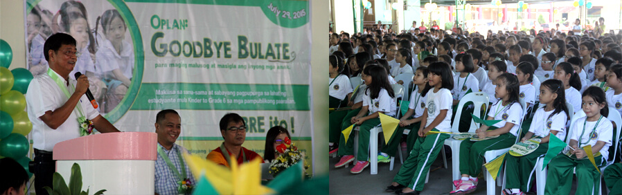 CSF, DOH Partner For Deworming Drive