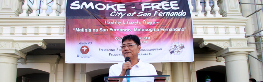 CSF Implements Smoke Free City Law