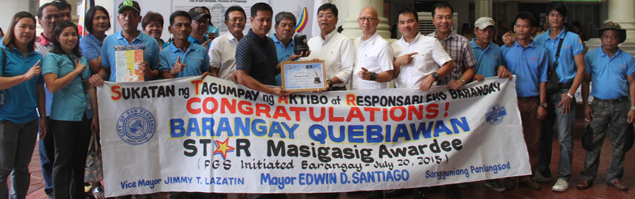 CSF Presents New Star Barangay