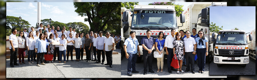 CSF receives new dump truck from Capitol