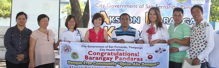 CSFP's Barangay Pandaras Is Dengue-free