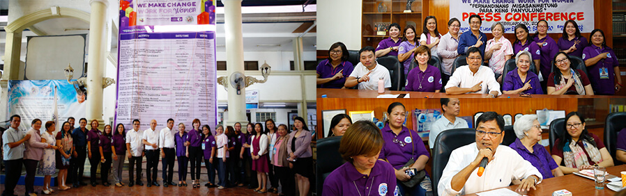 Women's Month celebration in CSF jampacked with activities